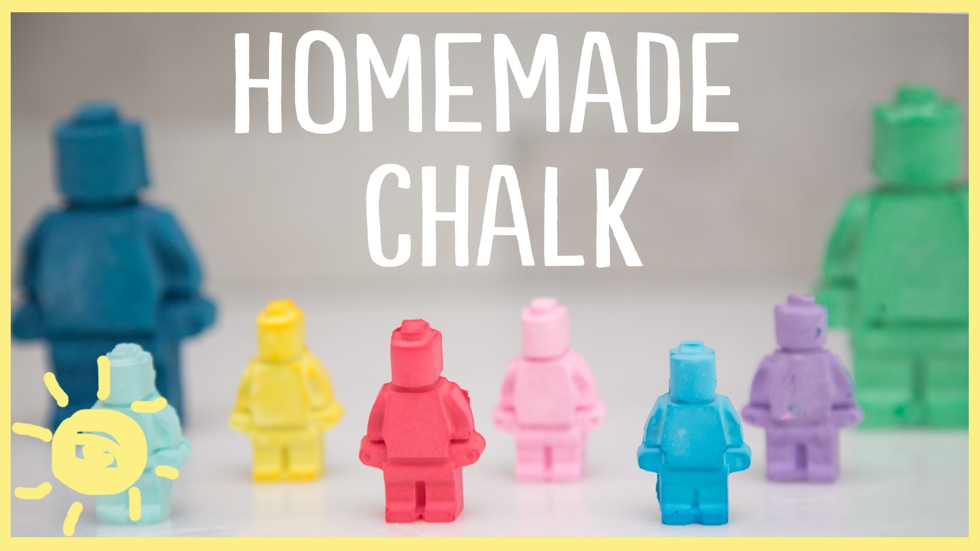 DIY | Homemade Chalk (Only 2 Ingredients!)