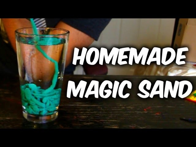 DIY Magic Sand
