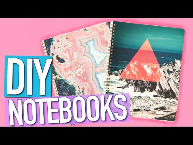 DIY Notebook Supplies For Back To School 2015!