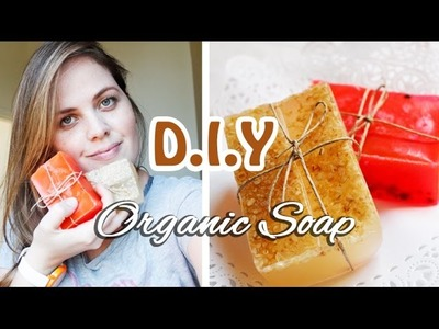 DIY: Organic Soap homemade -  DIY: Sabonete organico - artesanato
