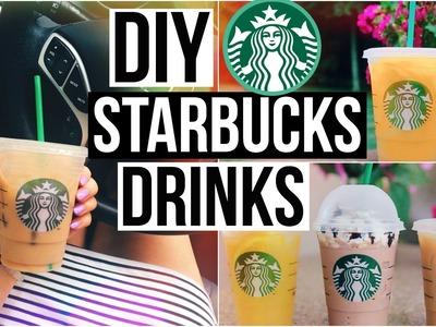 DIY Starbucks Drinks for Summer