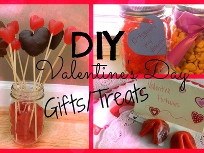 DIY Valentine's Day Treats.Gifts ♡
