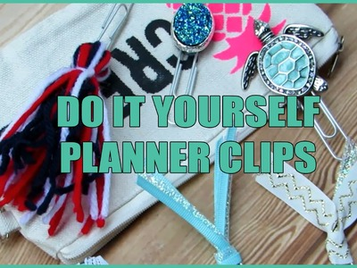 Easy DIY Planner Clips. Bookmarks - Creating&Co