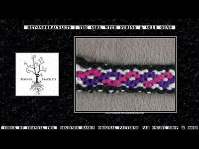 ► Friendship Bracelet Tutorial - Beginner - Celtic. Helix
