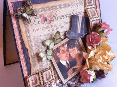 Graphic 45 ~ Le Romantique Vintage Card