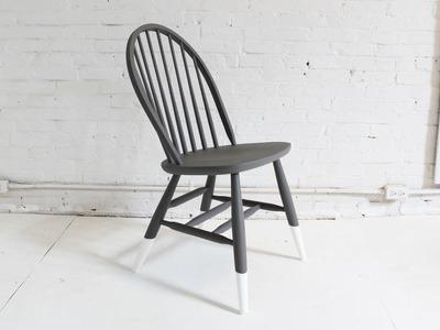 HomeMade Modern, Episode 5 -- DIY Dip Dye Chair