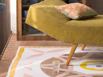 How to create a hand-painted rug - Dulux