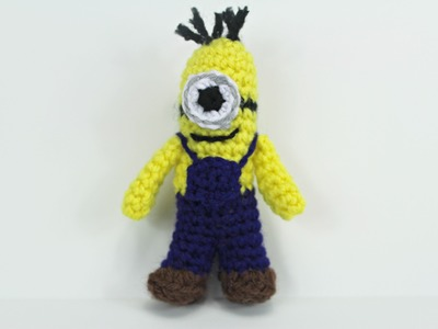How to crochet a Mini-Minion inspired by amigurumi (Video 1) - Yolanda Soto Lopez