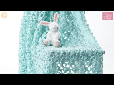 How To Crochet a Vintage Baby Blanket