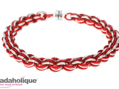 How to Do a 3-in-3 Chain Maille Weave
