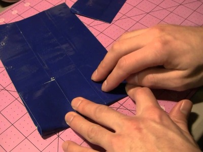 How to make a Duct tape Tardis wallet! (Part 1)