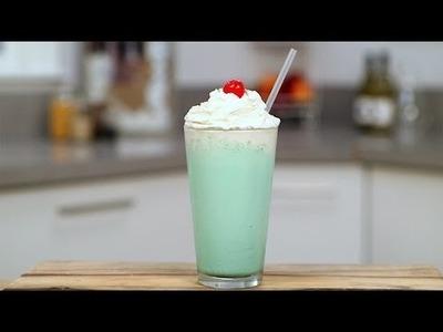 How to Make a McDonald's Shamrock Shake at Home | Get the Dish