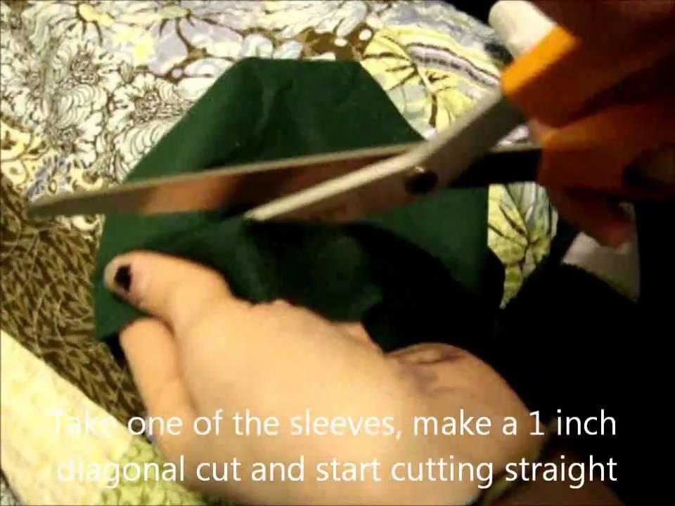 How to Make a Pentagram Back T-Shirt Dress
