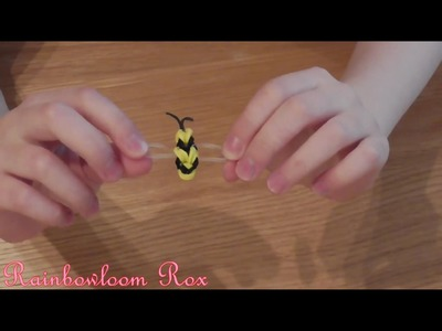 How To Make A Rainbow Loom Bee (Easy)