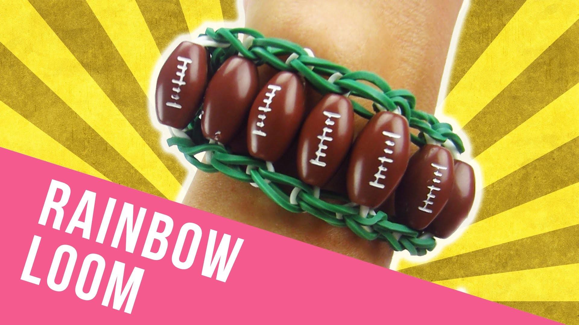 How To Make a Rainbow Loom Sports Bracelet