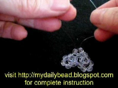 How to make a Simple Heart with Beads