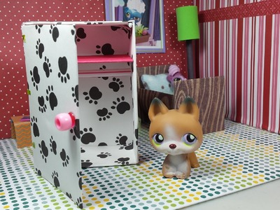How to Make a Tiny Closet Wardrobe: Easy LPS Doll DIY