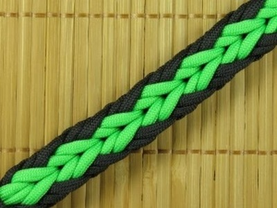 How to make an Arrow Paracord Sinnet Bracelet (Paracord 101)