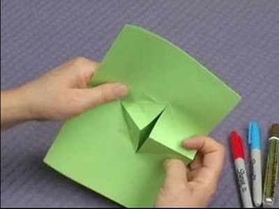 How to Make Pop-Up Cards & Envelopes : How to Make a Pop-Up Frog Card: Part 2