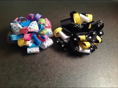 HOW TO make the BURST hair bow