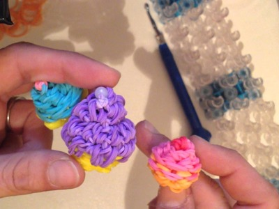 Intro to my New 3D MICRO and MINI Food Charms! Cupcakes, Cream Tarts Donuts & More! RAINBOW LOOM