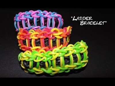 """Ladder Bracelet"" tutorial on the Wonder Loom"