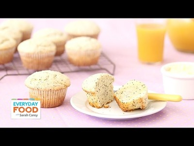 Lemon Poppy-Seed Muffin - Everyday Food with Sarah Carey