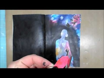 Mixed Media Art Journal Page #30