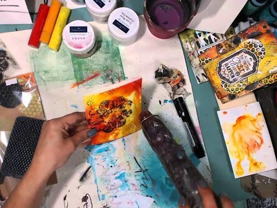 Mixed Media Cards made easy