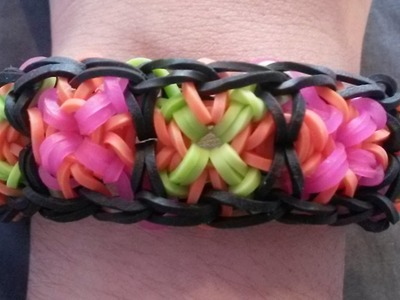 NEW! Criss Cross Bracelet on Rainbow Loom