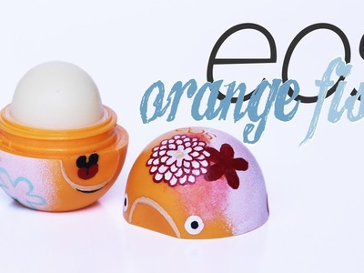 Orange fish eos lip balm | Pencilmade.dk