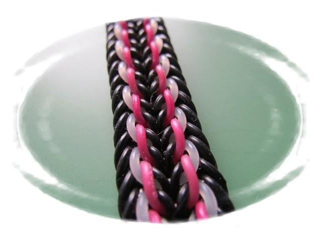 PRAGUE Hook only bracelet tutorial