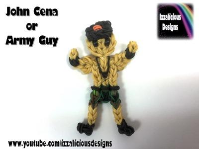 Rainbow Loom John Cena WWE or Army Action Figure Charm