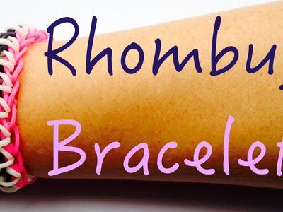 Rainbow Loom - Rhombug Losange - Tutorial How to (Easy tuto facile français)