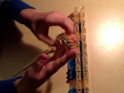 Rainbow Loom Snake Scale Bracelet