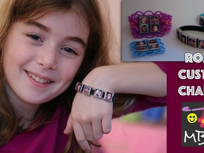 Roxo's Personalized Charm Bracelets - Make a one of a kind gift for the holidays!