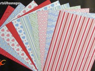 Scrapbook Papers | Art and Craft Materials Idea | JK Arts 652
