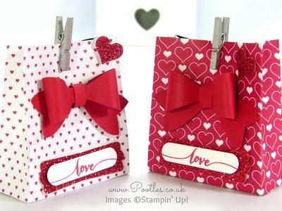 SpringWatch 2015 Red Heart Bow Builder Bag Tutorial