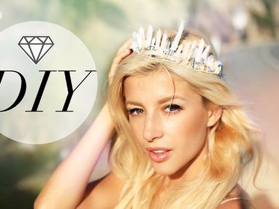 Tumblr Crystal Quartz Crown DIY
