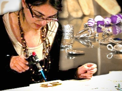 Young entrepreneur: jewellery maker