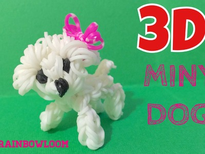 3D MINY dog Rainbowloom (happy animals)