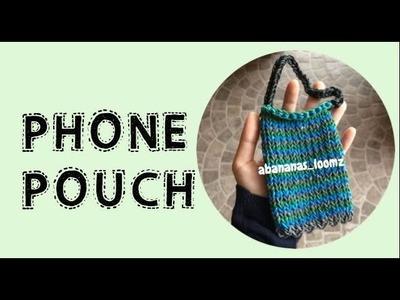 Abananas Loomz - Rainbow Loom Phone Pouch