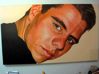 Adam   Time lapse painting video by Austin Parkhill