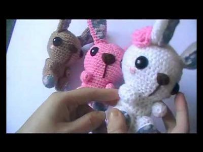 Adorable amigurumi rabbits!!