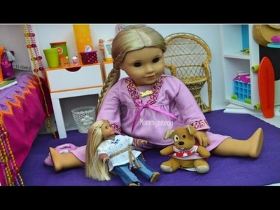 American Girl Doll ~ Setting up Julies's Bedroom Tour ~ BY REQUEST ~ Doll House tour