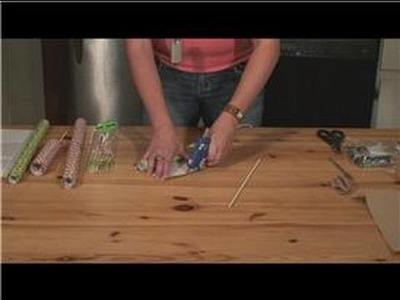 Asian-Inspired Crafts : Making a Chinese Yo-Yo: Cut Dowel