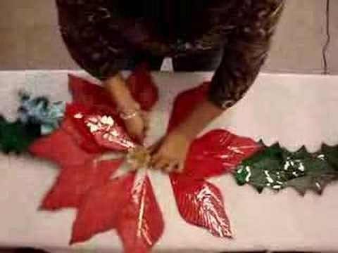 AWESOME! Christmas Poinsettia Decoration