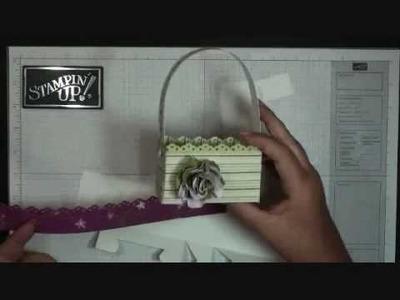 Big Shot Box #2 ~ Basket with Dawn