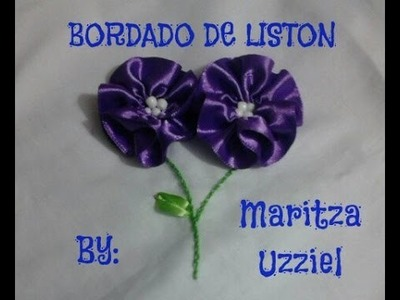 Bordado de liston