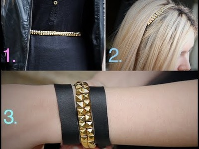 DIY: 3 em 1 - One Belt, 3 ways